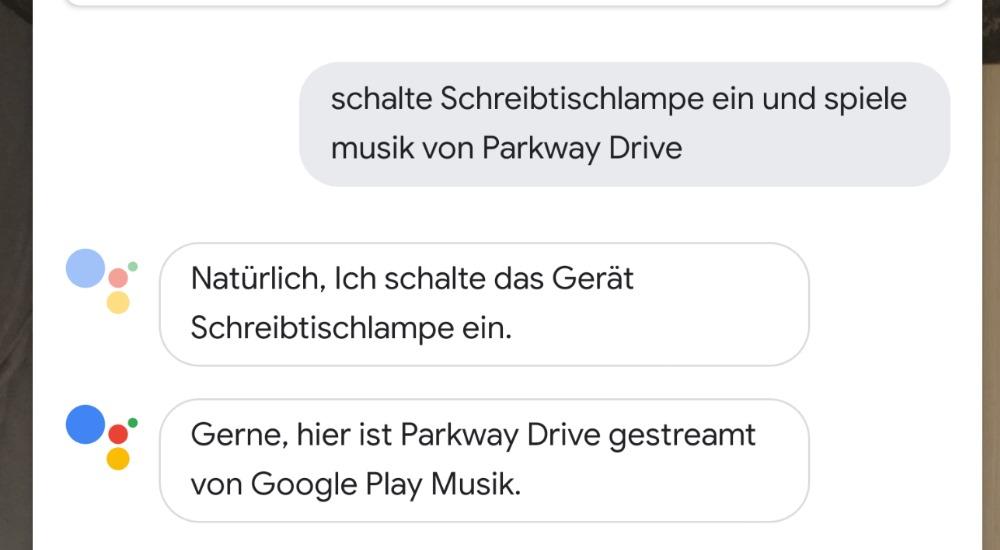 Google Assistant kann jetzt auch zwei Befehle auf deutsch umsetzen!