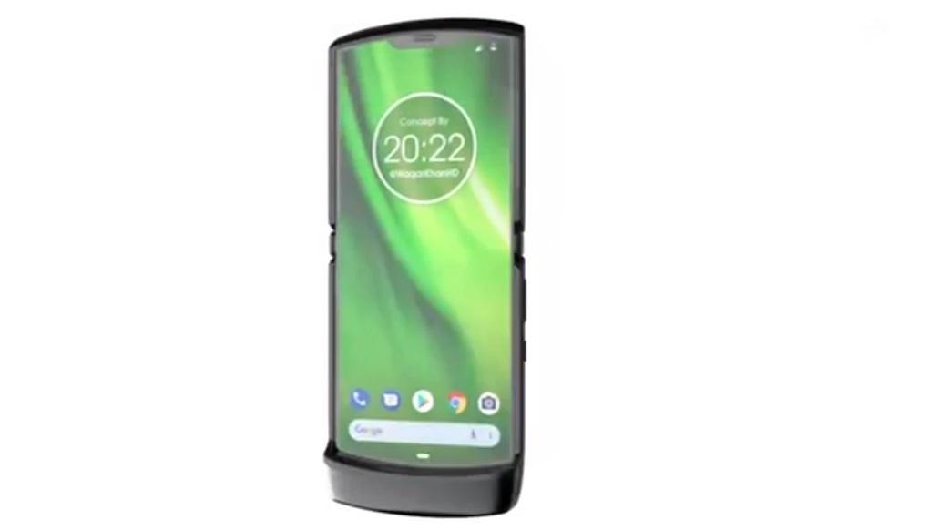 Lenovo zeigt den Faltmechanismus des Motorola RAZR