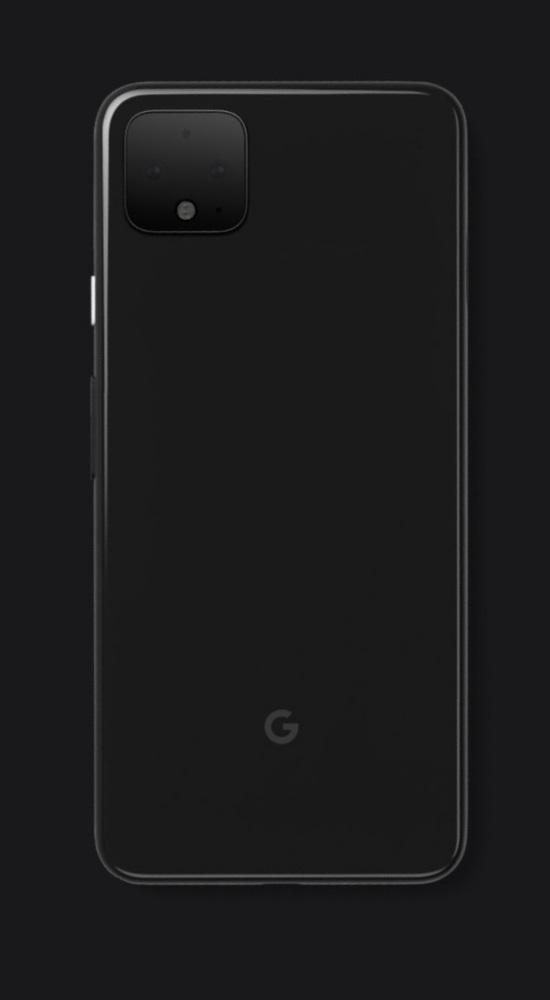 Google Pixel 4 offizielles Bild der Rückseite