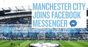 Manchester City Facebook Messenger