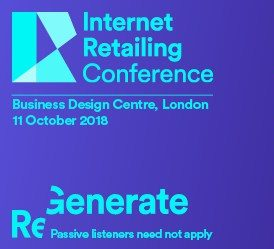 Internet Retailing Conference - October 11, London