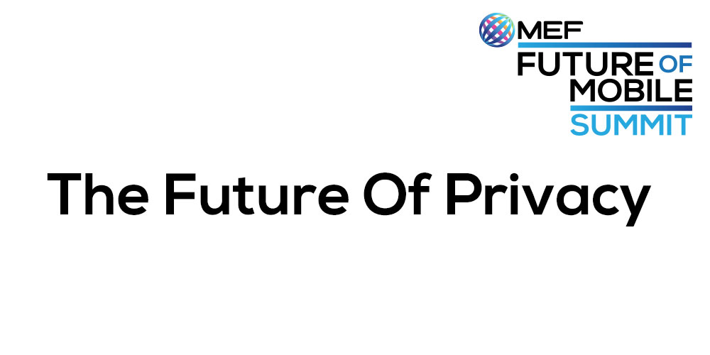 The Future of Privacy -  February 25th - 15.45