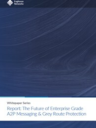 The Future of Enterprise Grade A2P Messaging & Grey Route Protection