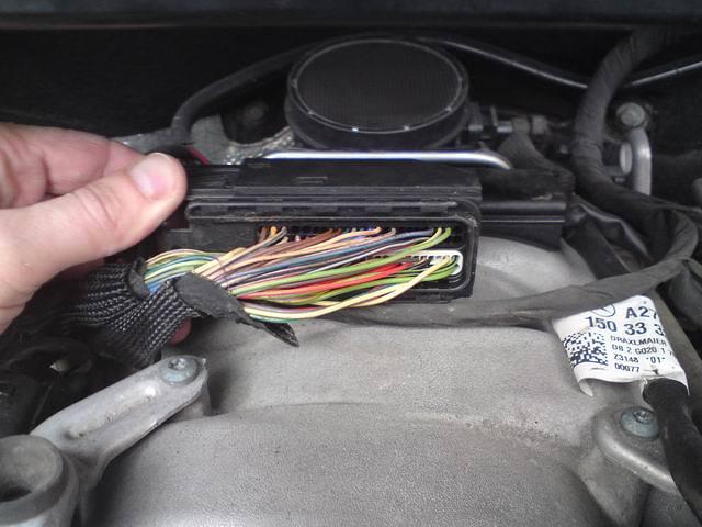 Эмулятор катализатора на Mercedes GL550