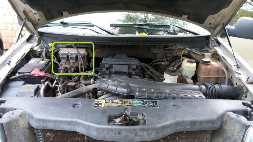Эмулятор катализатора Ford F150