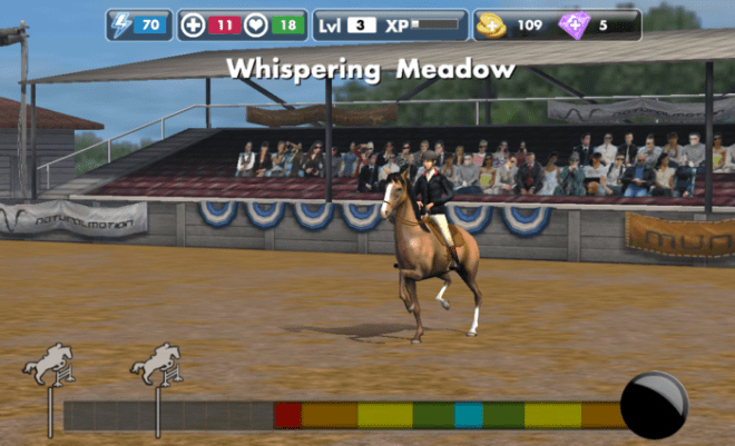 """Natural Motion's """"My Horse"""". A game that is targetted towards horse fans of all ages. A blue ocean for the App Store."""