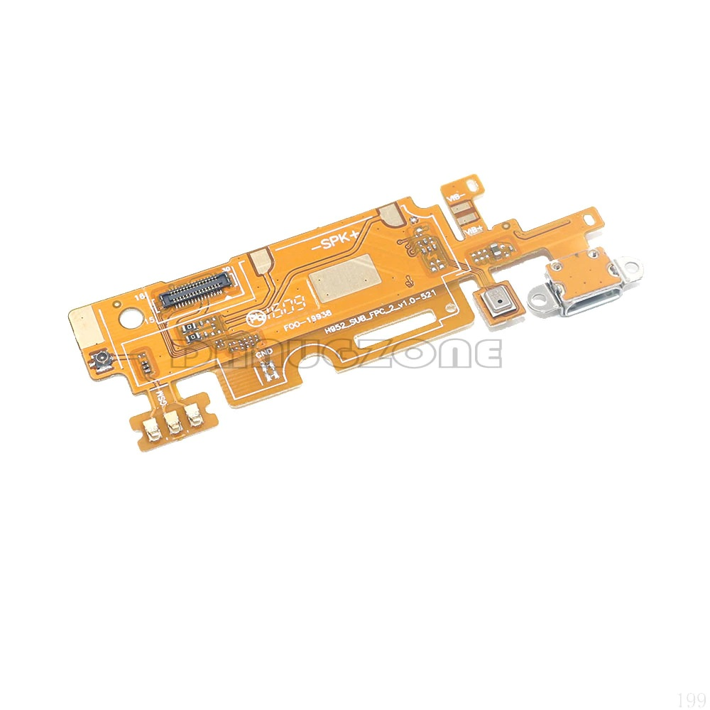 Infinix Zero 3 X552 USB Dock Port Charging Jack Plug Connector Charge Board Flex Cable With Microphone