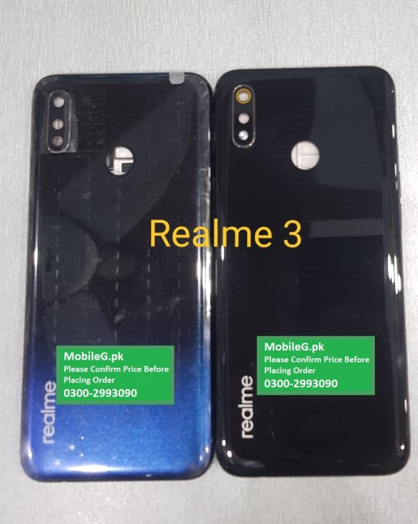 Realme 3 Complete Housing Back Case & Middle Frame Buy In Pakistan