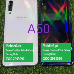 Samsung A50 Complete Housing Back Case & Middle Frame Buy In Pakistan