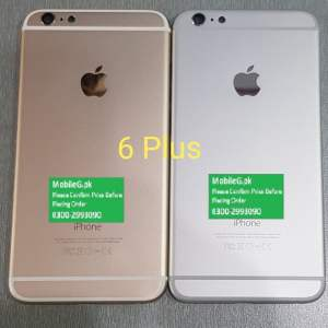 Iphone 6 Plus Complete Housing-Casing With Middle Frame Buy In Pakistan