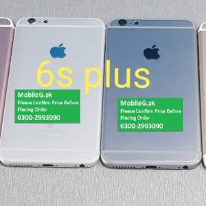 Iphone 6s Plus Complete Housing-Casing With Middle Frame Buy In Pakistan