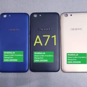 Oppo A71 Complete Housing-Casing With Middle Frame Buy In Pakistan