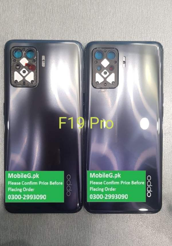 Oppo F19 Pro Complete Housing-Casing With Middle Frame Buy In Pakistan