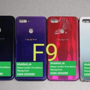 Oppo F9 Complete Housing-Casing With Middle Frame Buy In Pakistan