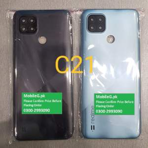 Realme C21 Complete Housing-Casing With Middle Frame Buy In Pakistan