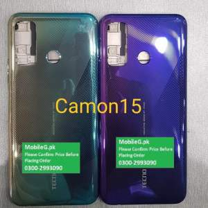 Tecno Camon 15 Complete Housing-Casing With Middle Frame Buy In Pakistan