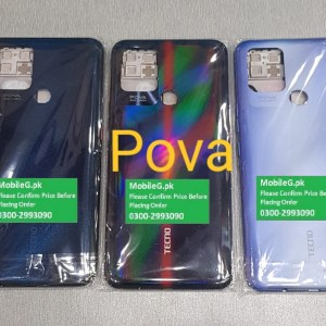 Tecno Pova Complete Housing-Casing With Middle Frame Buy In Pakistan