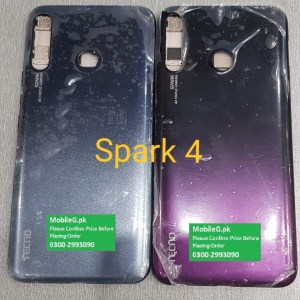 Tecno Spark 4 Complete Housing-Casing With Middle Frame Buy In Pakistan