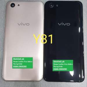 Vivo Y81 Complete Housing-Casing With Middle Frame Buy In Pakistan