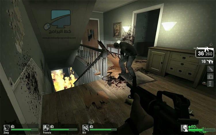 لعبة Left 4 Dead