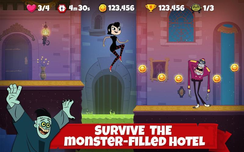 لعبة Hotel Transylvania Adventures