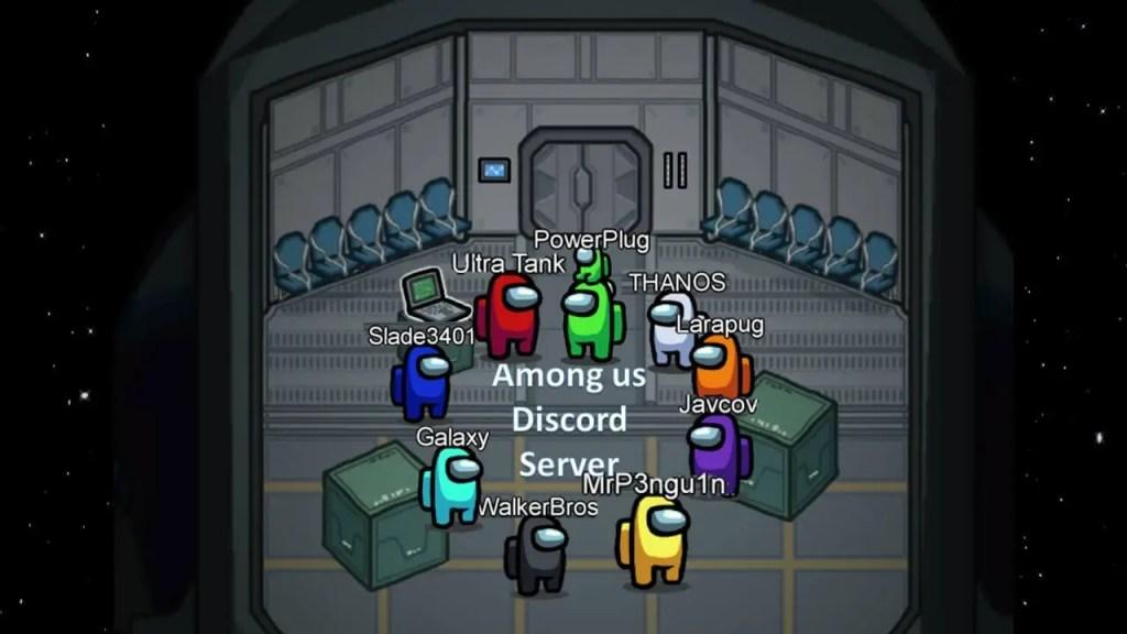 Among us discord servers
