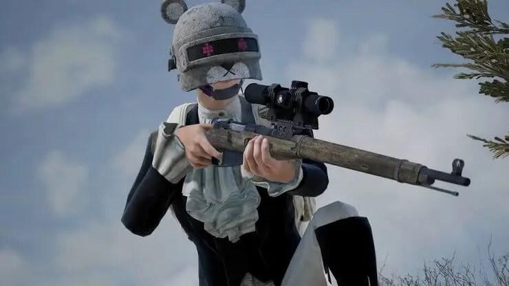 PUBG Mobile Bolt Action Sniper Rifles