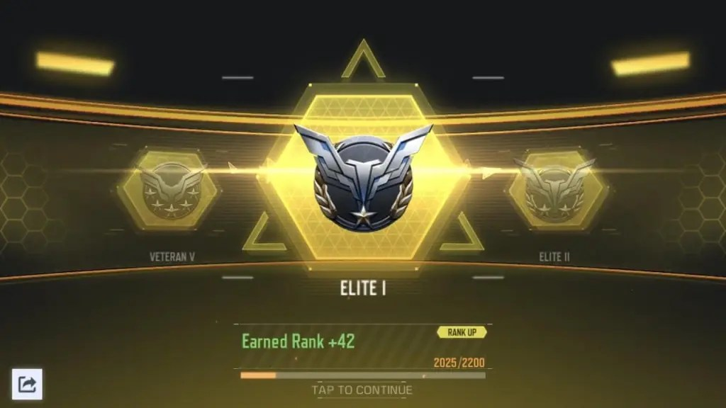 COD Mobile Rank Reset System Season 2