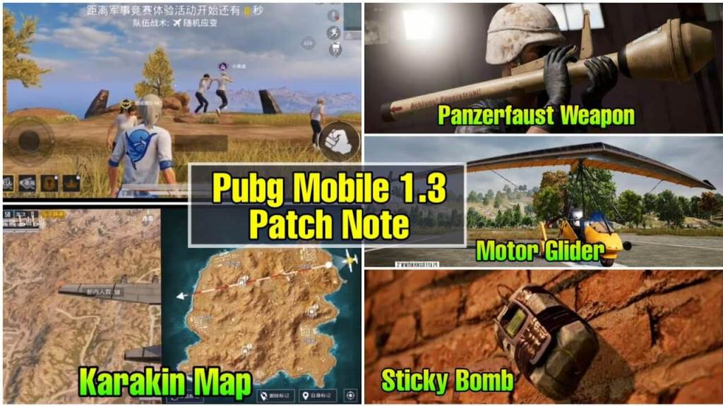 PUBG Mobile 1.3 Update Leaks