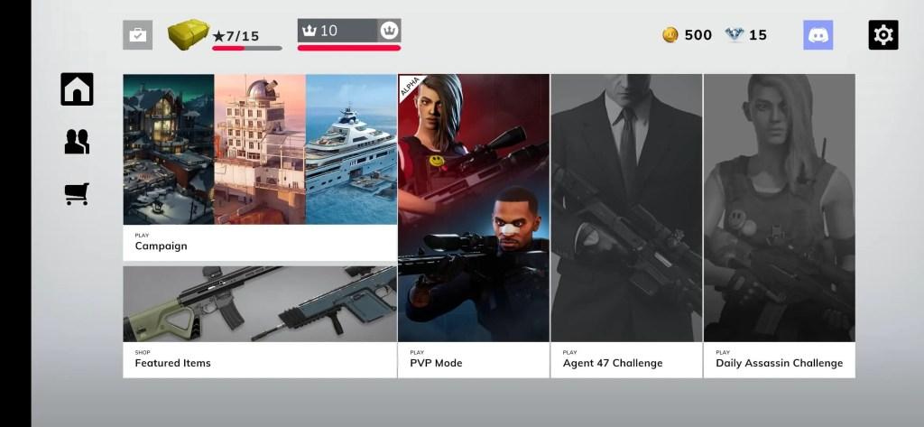Hitman Sniper Assassins lobby