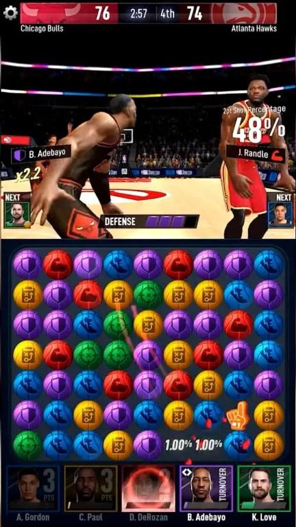 NBA Ball Stars graphics image