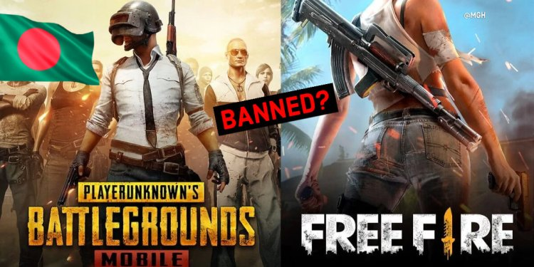 PUBG and free fire ban