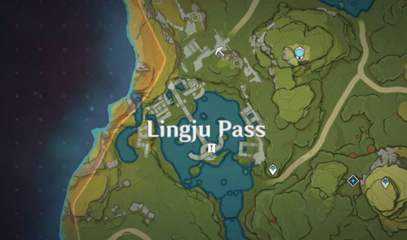 Lingju pass Nameless Treasures