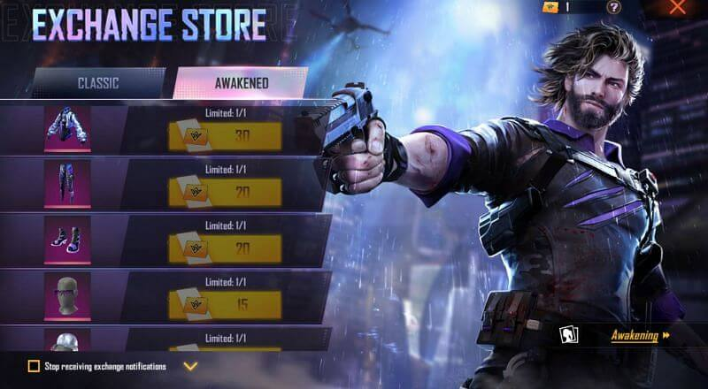 Events Free Bundles In Free Fire