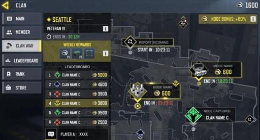 COD Mobile clan war