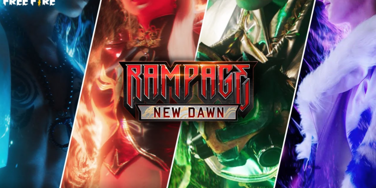 Free Fire Rampage New Dawn