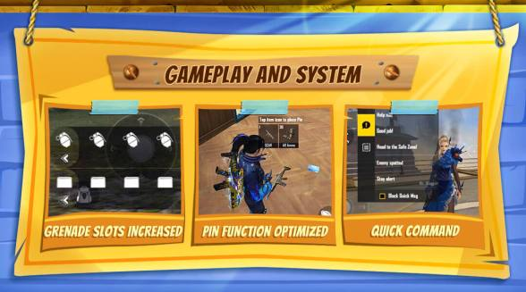 gamplay changes free fire
