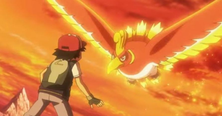 ho oh in anime
