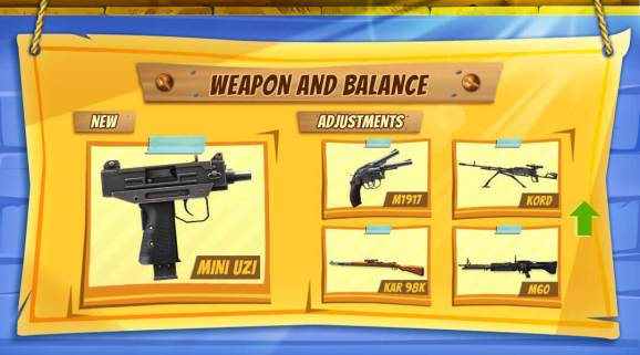 free fire weapon and balance