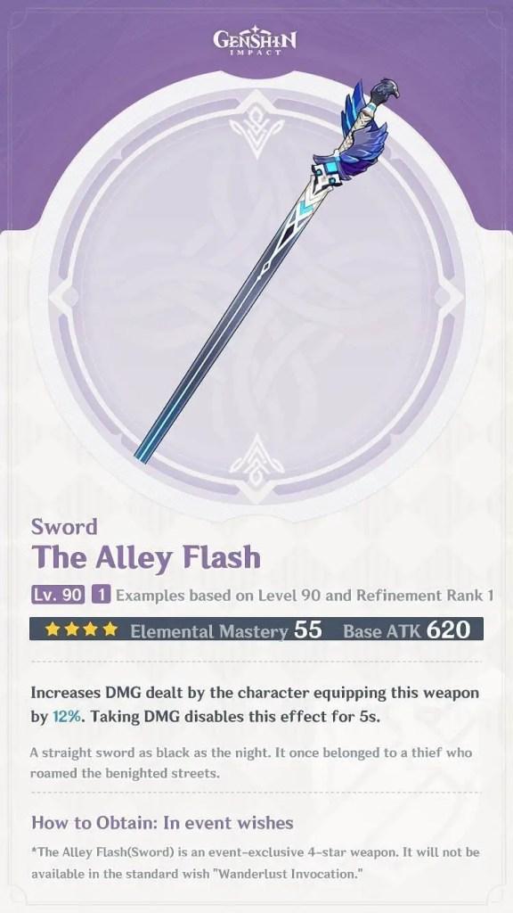 Alley Flash for Kazuha Build Guide