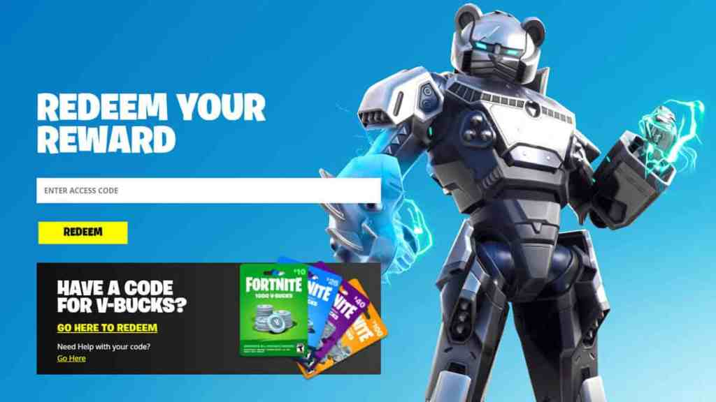 Fortnite How to Redeem Codes