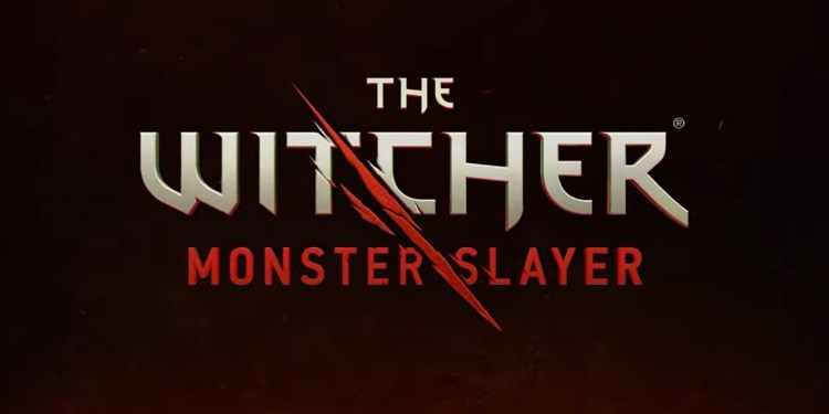 The Witcher monster slayer poster