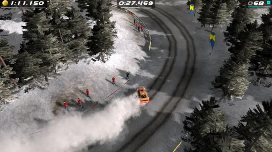 rush rally origins snow