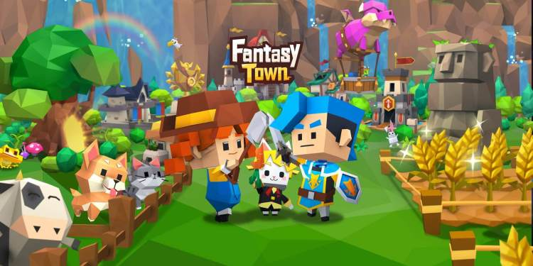 Garena Fantasy Town Gameplay Head Picture