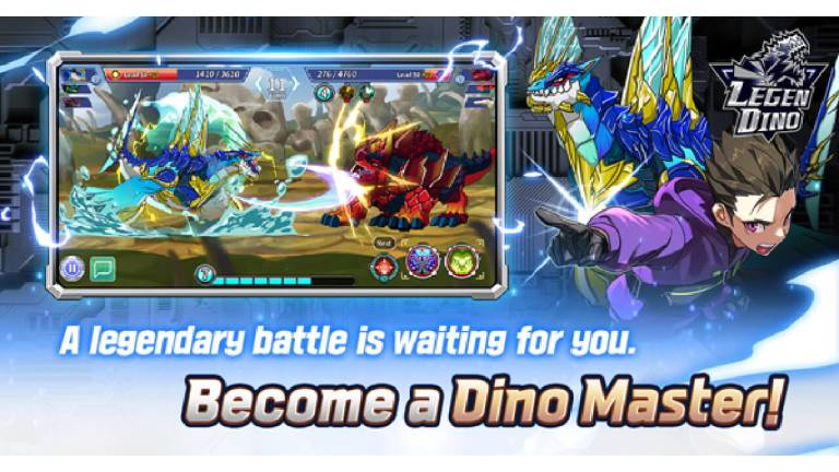 Becoming a Dino Master in Legendino.