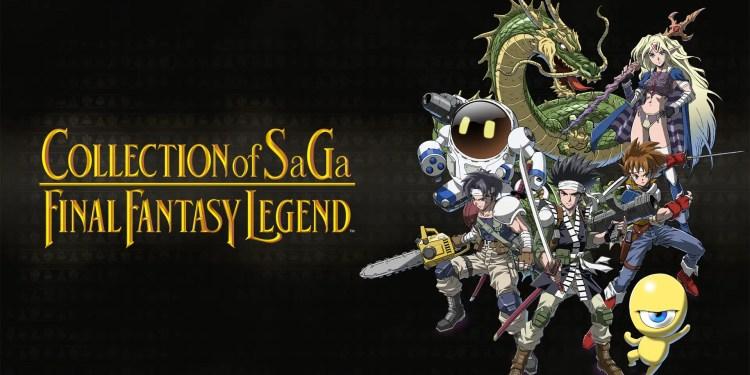 collection of saga final fantasy legend cover