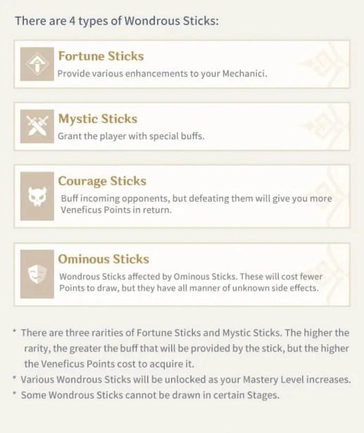 wondrous sticks