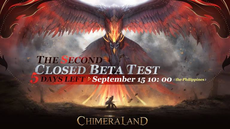 The second closed beta testing of Chimeraland.