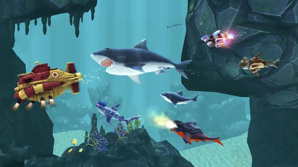 Hungry Shark Evolution survival ss