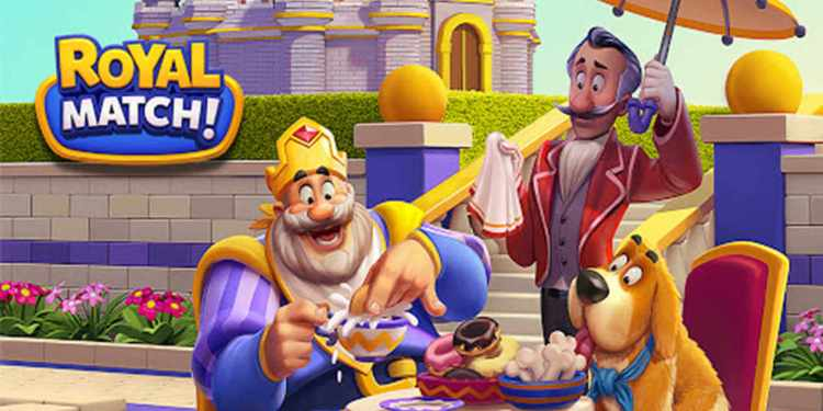 Royal Match Android iOS Game Poster